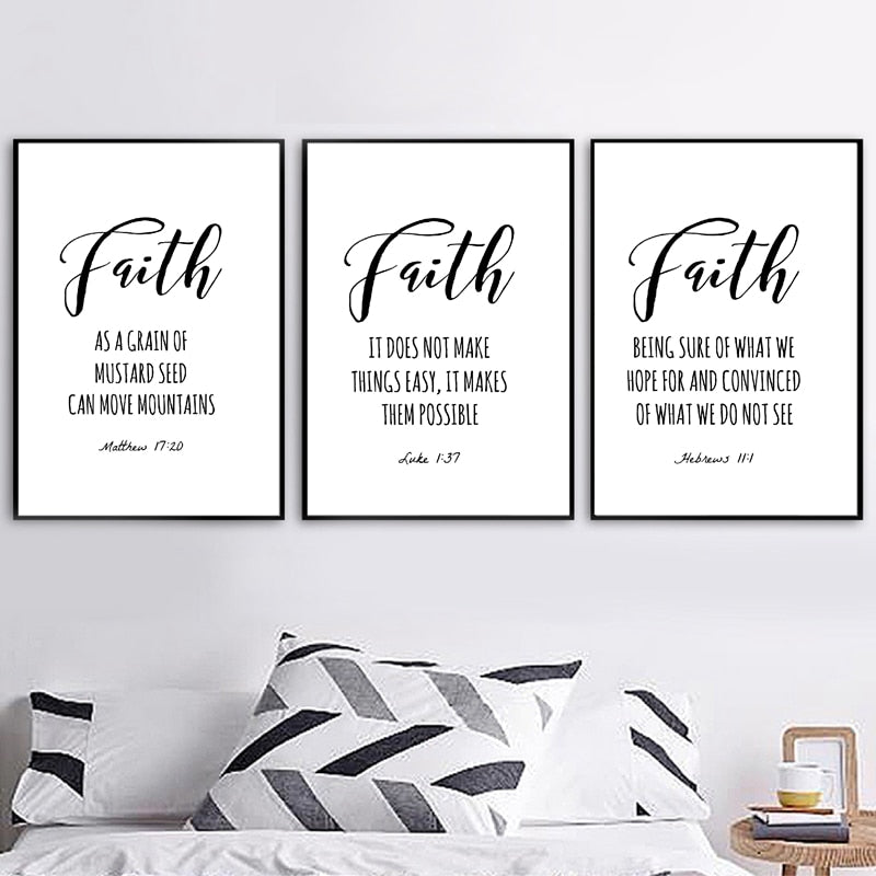 Matthew Quotes Wall Art Decor