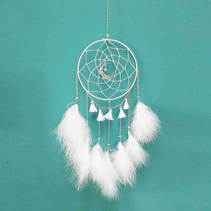 New Moon Feathers Wall Hanging Decor