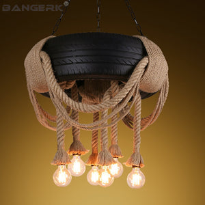 Tires Pendant  Hanging Lamp