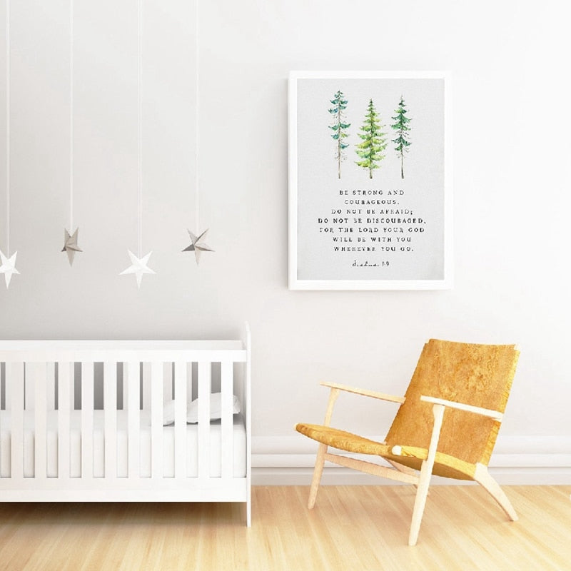 Inspirational Nursery Wall Art