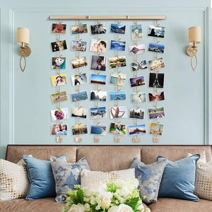 Wooden Photo Frames Wall Art