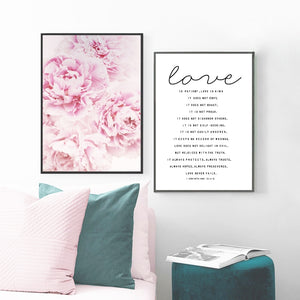 Love is Patient Wall Art Decor