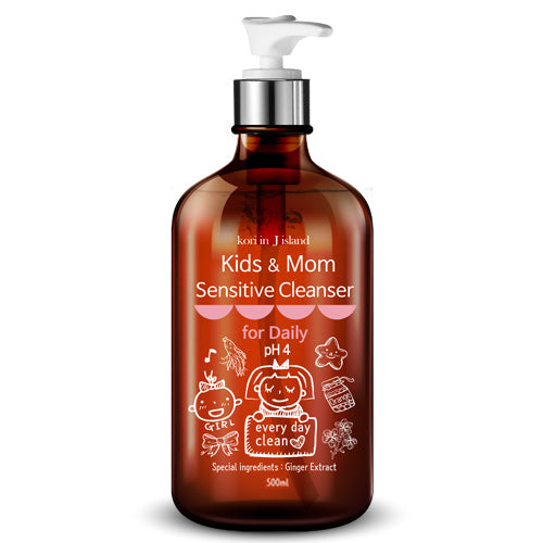 Kids & Mom Sensitive Cleanser 500ml