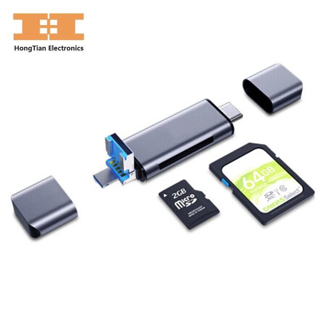 SD Card Reader micro sd TF card USB SD adapter