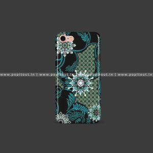 Green Floral Art Case - PopItOut