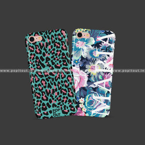 Animal Print Case & Floral Name Case - PopItOut