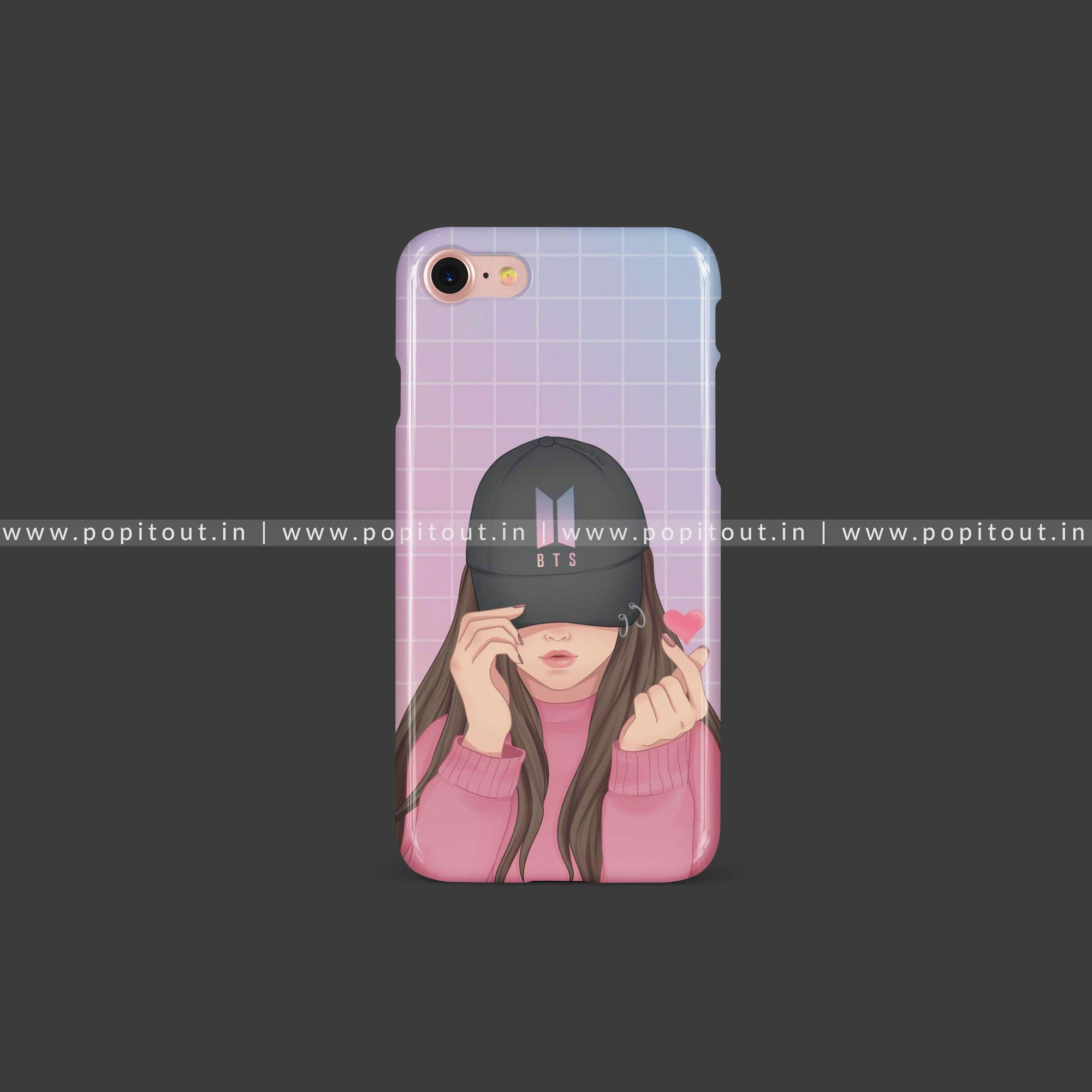 Bts Army Girl Case Pop It Out