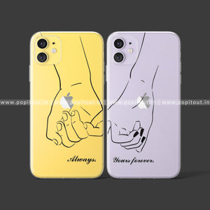 Always Yours Forever Silicon Case - PopItOut
