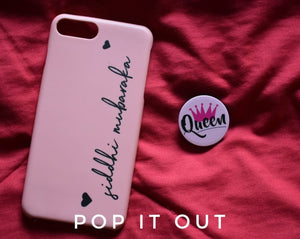 Customised name case with Queen pop - PopItOut