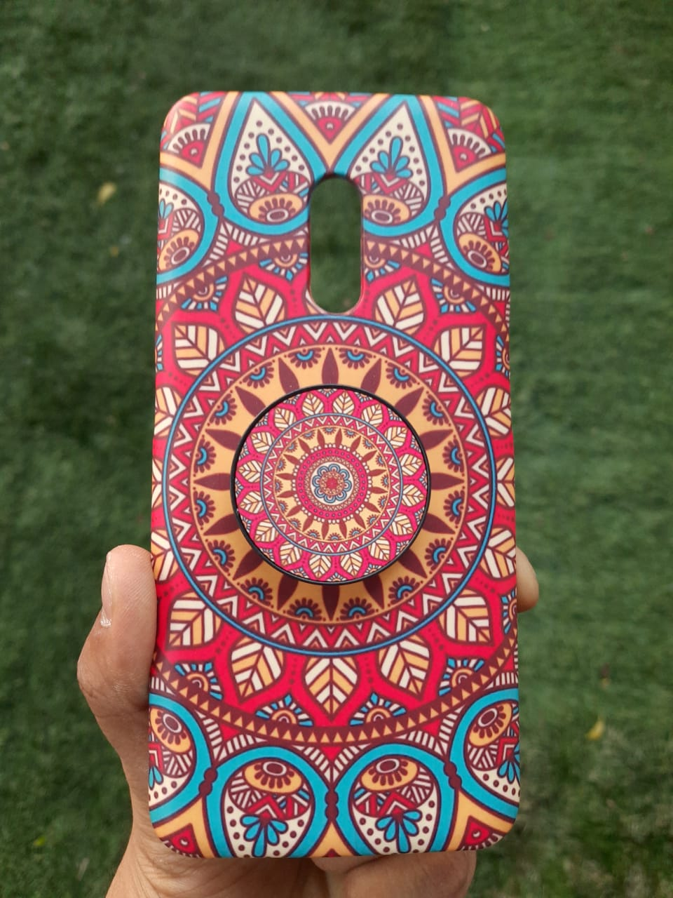 Mandala Case with Holder