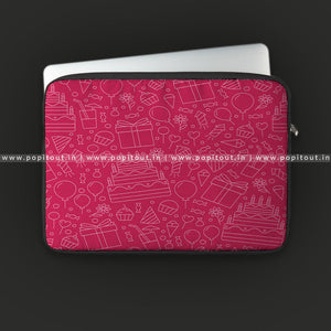 Open image in slideshow, Pink Party Laptop Sleeve