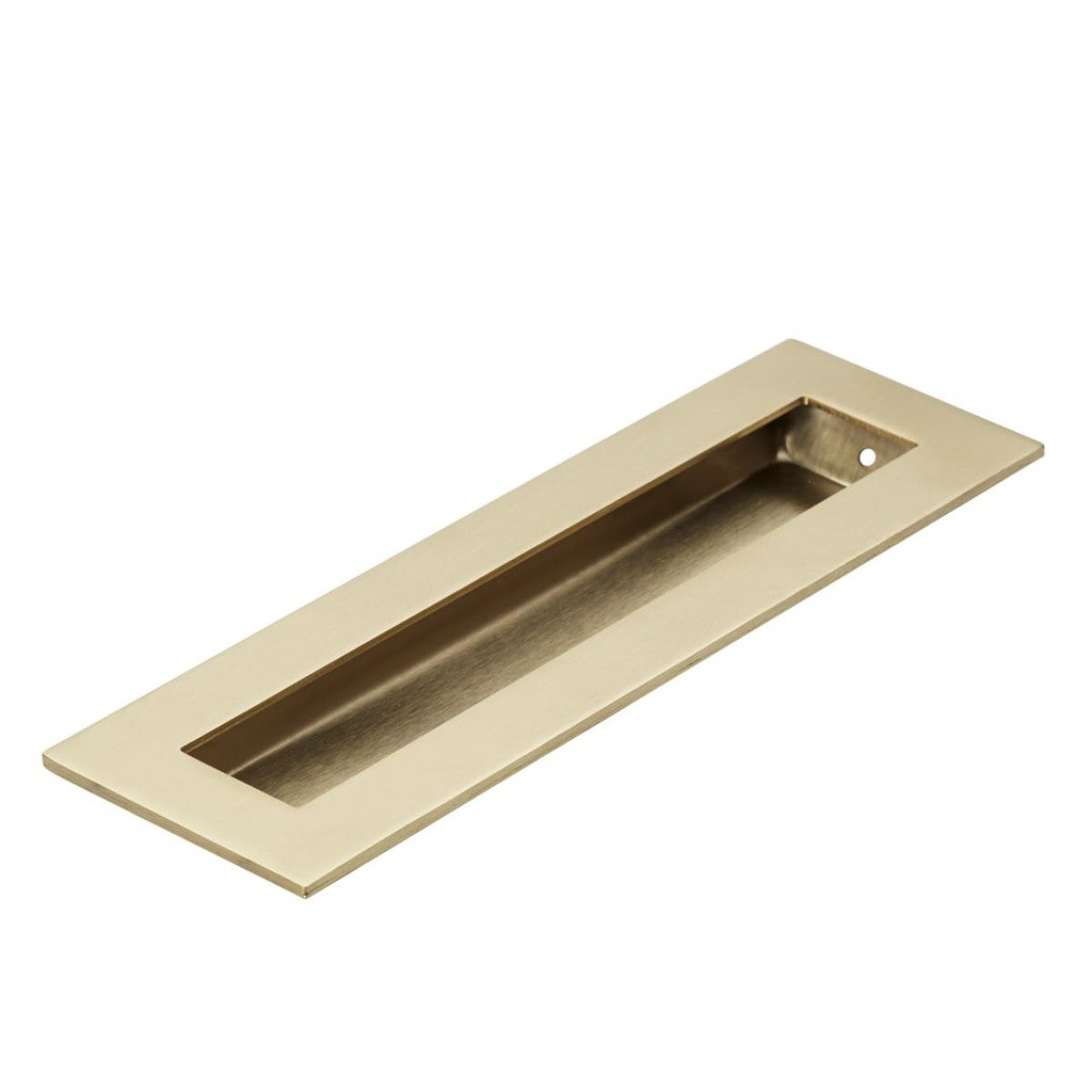 200mm brass flush pull