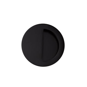 70mm black handle flush top