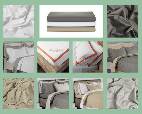 100% Organic Cotton Fitted Sheets