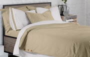 Dune & White Embroidered Pillowcases: Organic Cotton (Set of 2)