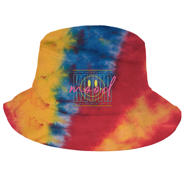 Kouvr Mood Primary Dyed Bucket Hat
