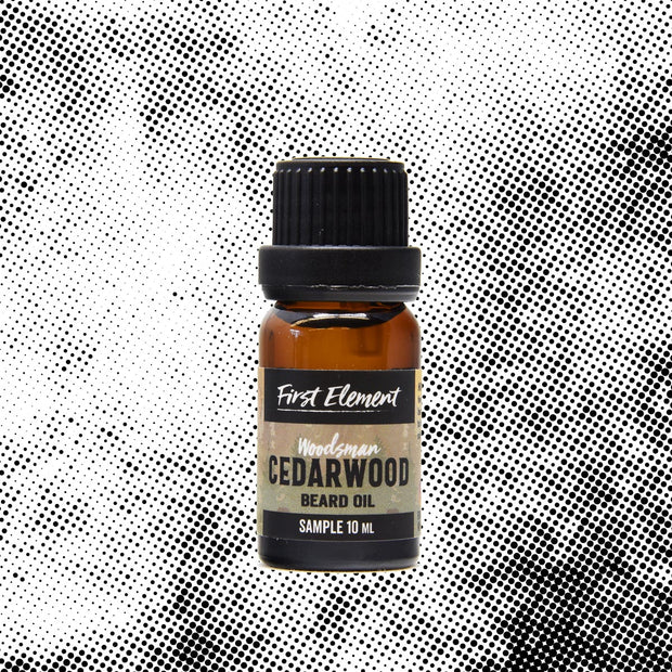 Cedarwood Beard Oil 10ml - First Element