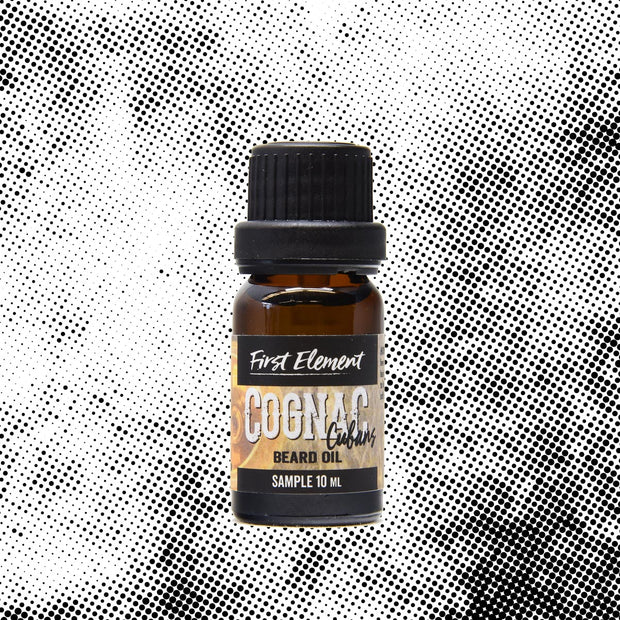 Cognac & Cubans Beard Oil 10ml- First Element