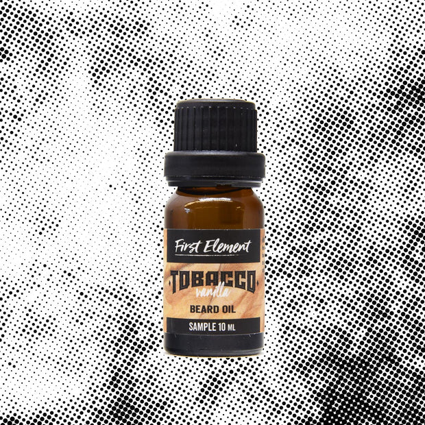 Vanilla Tobacco Beard Oil 10ml- First Element