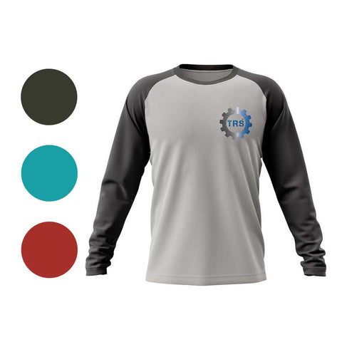 The Research Station Baseball T-shirt Long Sleeve