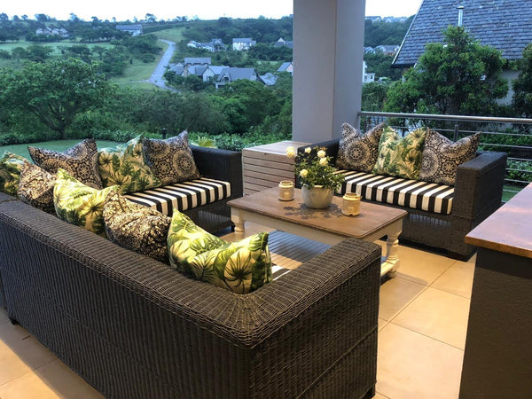 Outdoor FLAT-TOP Design Furniture and (4-seater couch) - ALLHANDDONEDESIGNS- Home & Garden Furniture