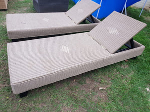 Adjustable Patio Chaise Lounge Chair
