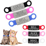 Pet Personalized ID Tag for Dogs & Cats