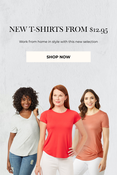 New Tops From $12.95
