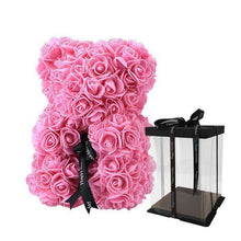 Load image into Gallery viewer, Rose Teddy Bear With FREE Box - Valentine Special