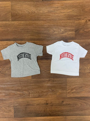"Northside Kids ""EVERYDAY TEE"" - grey/white"