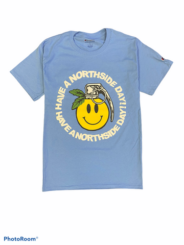 """Have a Northside Day"" Tee - Carolina Blue"
