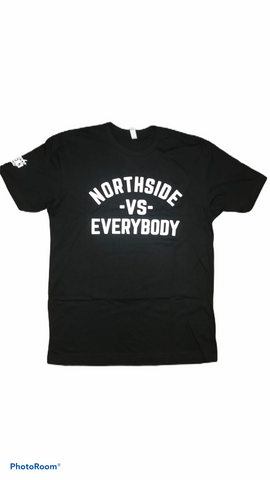 """VS EVERYBODY TEE"" - BLACK"