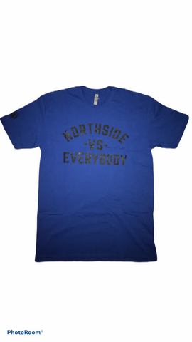 """VS EVERYBODY TEE"" - BLUE"