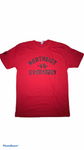 """VS EVERYBODY TEE"" - RED"