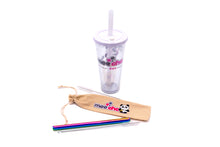 Load image into Gallery viewer, Reusable Bubble Tea Combo - Cup & Straw Set - Mee Cha Online