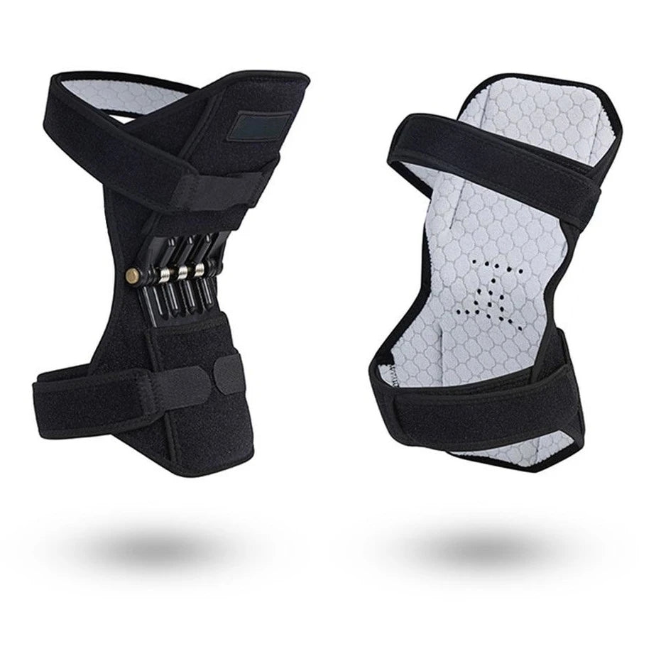Powerful Spring Bouncing Knee Booster Knee Joint Support Pads (PAIR)