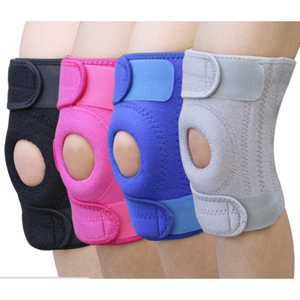 Knee Brace Strap Patella Stabilizer Support Compression Velcro Sleeve Knee for Knee Pain Relief