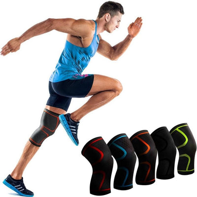 Knee Brace Compression Support Sleeve Lift and Rise Running Knee Protector Pads Relieve Arthritis