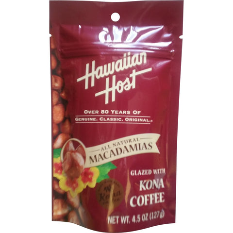 Hawaiian Host - Kona Coffee Glazed Macadamias - Mr. Pineapple