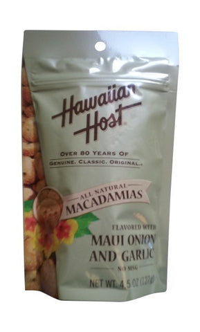 Hawaiian Host - Maui Onion & Garlic Macadamias - Mr. Pineapple