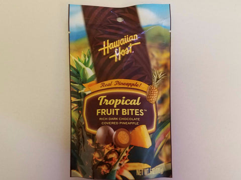Tropical Pineapple Fruit Bites (Dark Chocolate) - Mr. Pineapple