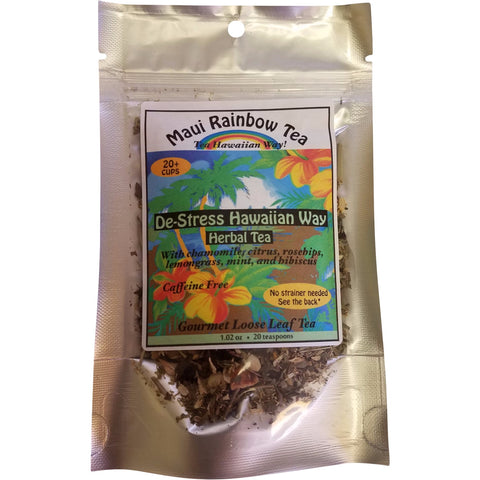 Maui Rainbow Tea - De-Stress Hawaiian Way (Herbal tea) - Mr. Pineapple