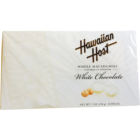 Hawaiian Host - White Chocolate Macadamia Nuts - Mr. Pineapple