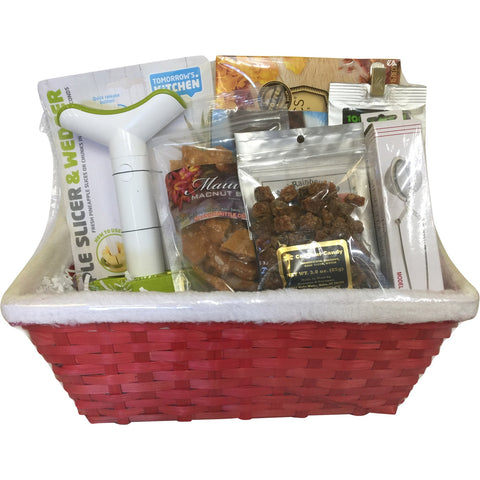 Gift Basket - Santa's  Basket - Mr. Pineapple