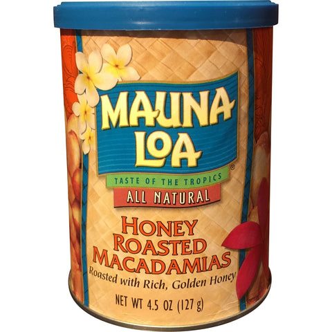 Mauna Loa - Honey Roasted Macadamias - Mr. Pineapple