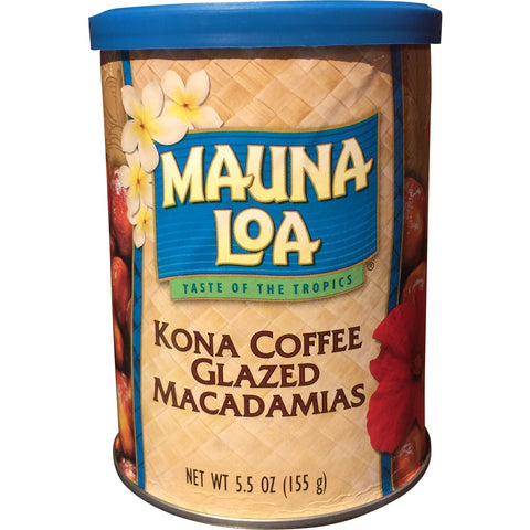 Mauna Loa - Kona Coffee Glazed Macadamias - Mr. Pineapple