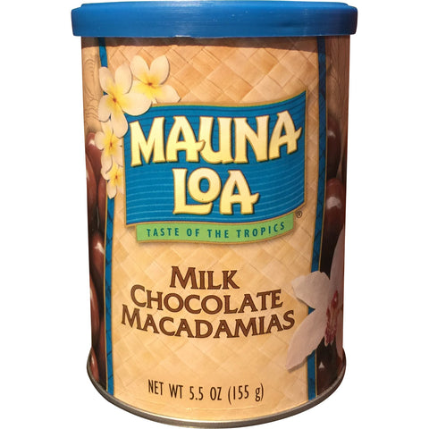 Mauna Loa Milk Chocolate Macadamias - Mr. Pineapple