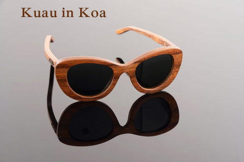 Maui Woody's Sunglasses - Kuau in Koa Wood