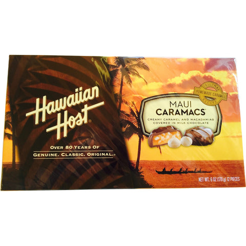 Hawaiian Host - Maui Caramacs - Mr. Pineapple