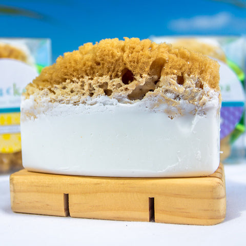 Nalu Koa - Natural Sea Sponge Bath Luxury Soap Bar
